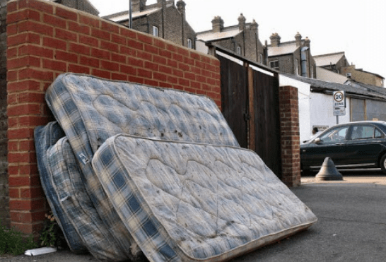 Options for disposing of old Mattress